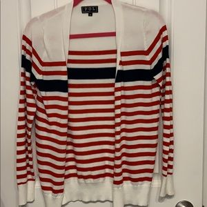 Like New Red/White Blue Cardigan from boutique